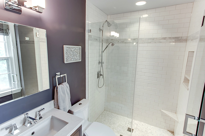 Ft Reno Modern Bathroom Update