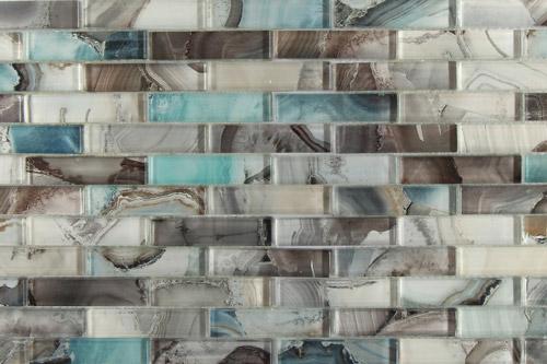 Barlume Linear Glass Tile