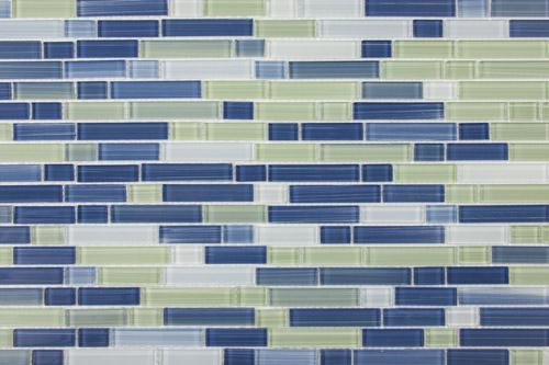 Landscape Linear Glass Mosaics