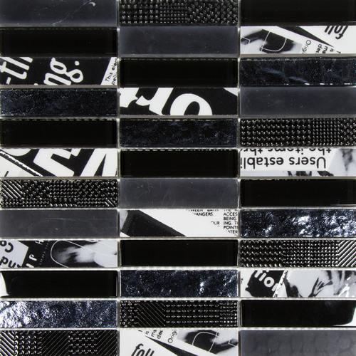 Lusso Black & White Tile